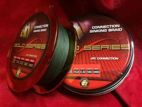 JRC Connection Sinking Braid 540m 0,22mm weed