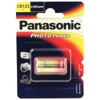 Panasonic CR123A 3V Lithium Power