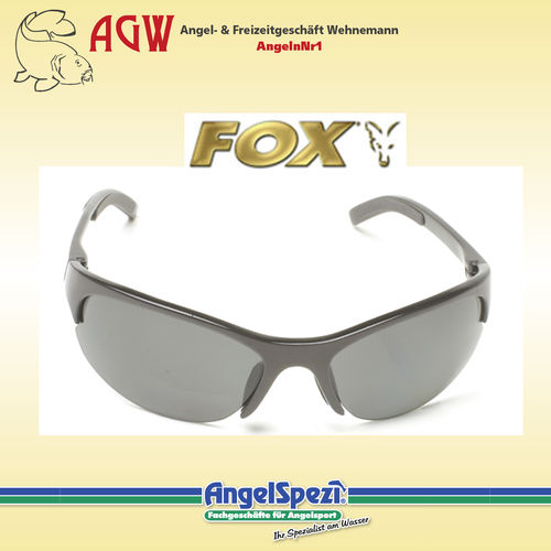 FOX 700 Series Black Frames Grey Lenses