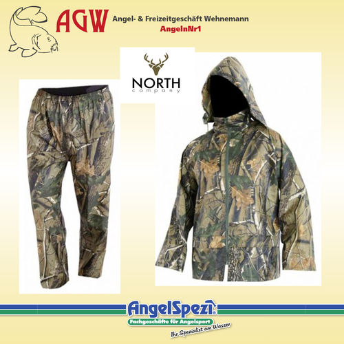 North Company Rainwear Set Camo M
