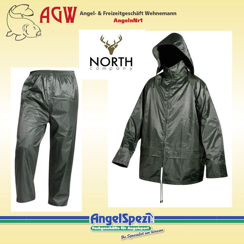 North Company Rainwear Set green L