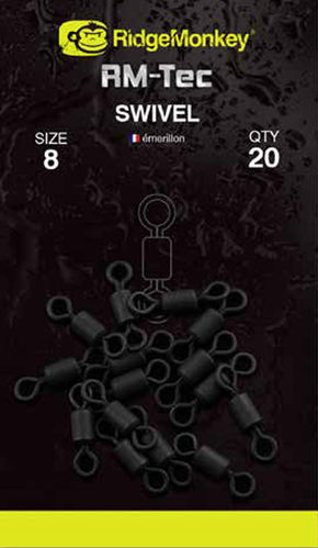 Ridge Monkey Tec Swivels #8