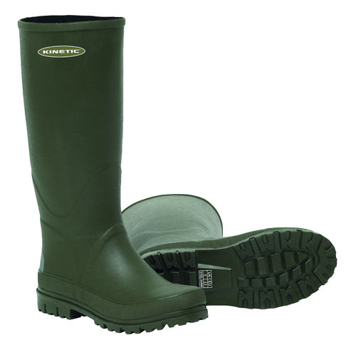 "Kinetic Hekla Rubber Boot 16"" #37 Hunting Green"
