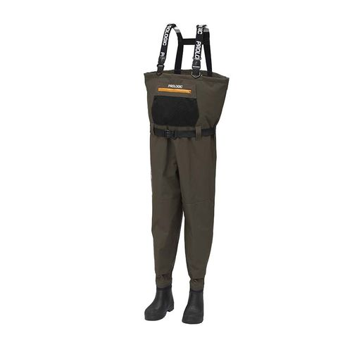 ProLogic Litepro Breathable Wader W/Eva Cleated Boot #M #40/41